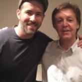 Ryan Reynolds jokingly sendsPaul McCartney a bottle of Gin fromBuckingham Palace