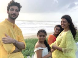 Sushmita Sen shares cute videos of beau Rohman Shawl as he tutors Alisah and her friend
