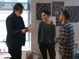 Taapsee Pannu shares throwback picture with Amitabh Bachchan and Sujoy Ghosh from the sets of Badla