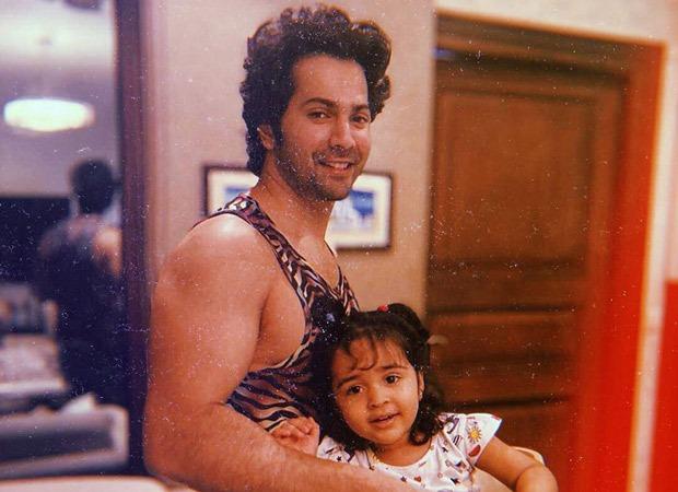Varun Dhawan gets the cutest workout partner in his niece, Niara Dhawan