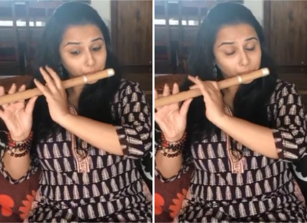 Vidya Balan learns to play flute for Shakuntala Devi