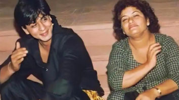 """She taught me for hours how to do the 'dip' for film dancing,"" writes Shah Rukh Khan remembering Saroj Khan"