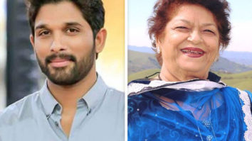 """""""She was my 1st choreographer ever in the movie DADDY,"""" writes Allu Arjun sharing old pictures with Saroj Khan"""