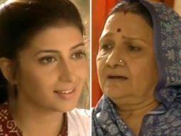 Smriti Irani shares her first scene with Sudha Shivpuri aka Baa from Kyunki Saas Bhi Kabhi Bahu Thi