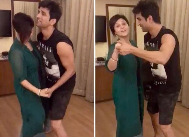 Swastika Mukherjee shares a dance video with Sushant Singh Rajput; watch