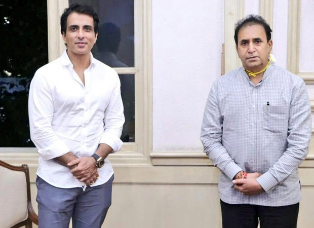 Sonu Sood gives 25000 face shields for Maharashtra police