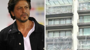 Shah Rukh Khan's house covered with plastic sheets, fans wonder if it is due to COVID-19
