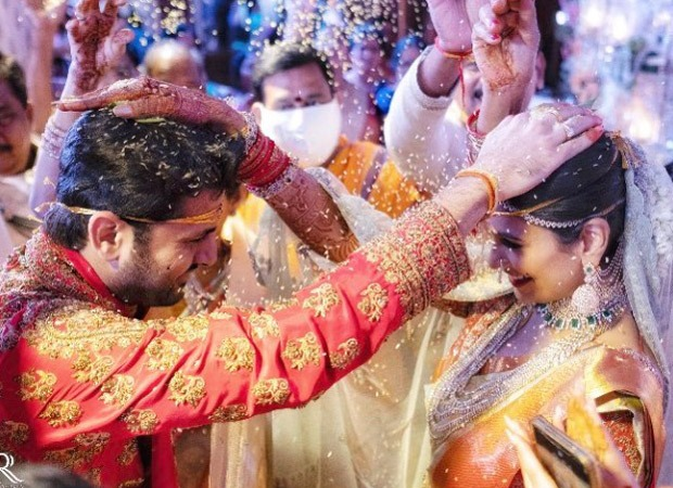 Bheeshma star Nithiin gets married to Shalini amid lockdown; CHECK PICS