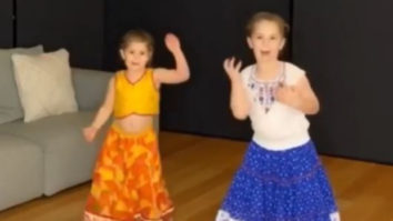 Cricketer David Warner's daughters dance to the song Bala from Housefull 4; watch