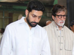 Amitabh Bachchan is feeling bad that Abhishek Bachchan has to remain in hospital