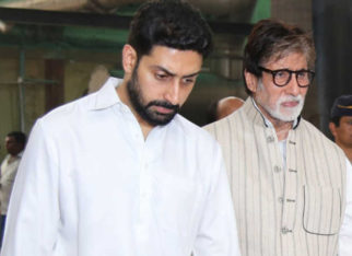 Amitabh Bachchan is feeling bad that Abhishek Bachchan has to remain in hospital