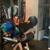 Disha Patani shares throwback videos doing squats with 80 kilos weight