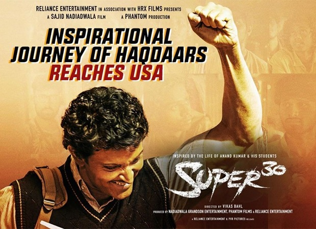 Hrithik Roshan starrer Super 30 to re-release in the USA