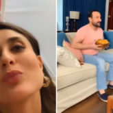 Kareena Kapoor Khan shares behind-the-scenes photos with Saif Ali Khan as they shoot from home