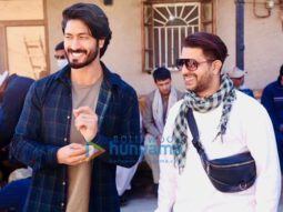 On The Sets Of The Movie Khuda Haafiz