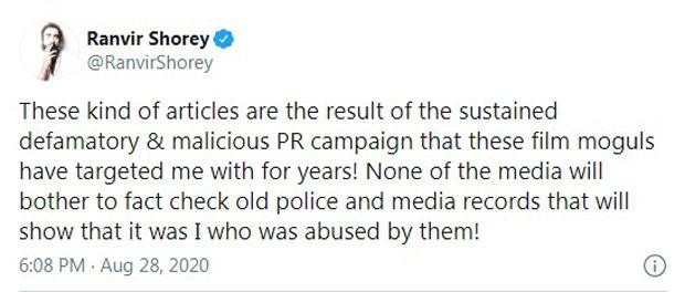 Ranvir Shorey alleges he was abused by Pooja Bhatt and Mahesh Bhatt's family
