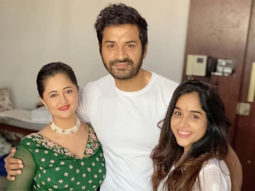 Rashami Desai is all smiles as she celebrates Raksha Bandhan with family