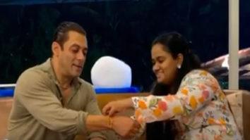 Salman Khan shares a heartwarming video montage of celebrating Raksha Bandhan