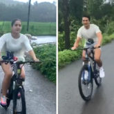 Sara Ali Khan and Ibrahim Ali Khan are enjoying Goa monsoon and cycling in dreamy weather