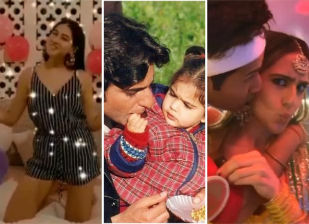 Sara Ali Khan celebrates her 25th birthday with her family, Kareena Kapoor Khan and Varun Dhawan post a sweet messages