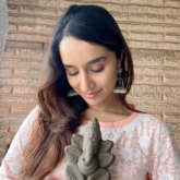Shraddha Kapoor shares a picture with eco-friendly Ganpati
