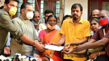 Indian 2 Accident: Kamal Haasan and Shankar give cheques of Rs 1 crore to families of the deceased