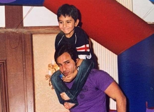 Saif Ali Khan Birthday: Ibrahim Ali Khan shares a childhood picture wishing his father