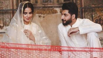Pakistani actor Saba Qamar and singer Bilal Saeed issue apology after being named in FIR for shooting inside a mosque