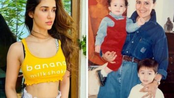 Disha Patani's comment on Tiger Shroff's childhood picture has everyone's attention