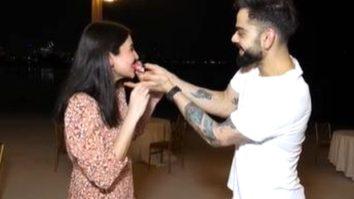 FIRST VISUALS: Anushka Sharma and Virat Kohli celebrate their pregnancy in Dubai with RCB team