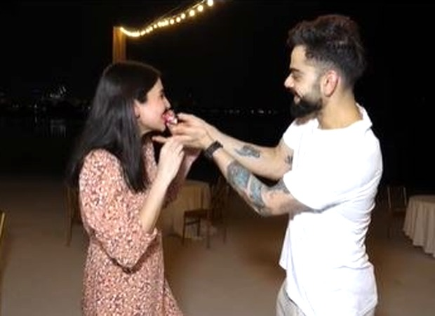 FIRST VISUALS: Anushka Sharma and Virat Kohli celebrate their pregnancy in Dubai with RCB team