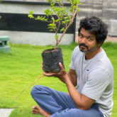 Thalapathy Vijay takes part in the Green India Challenge; thanks Mahesh Babu for the nomination