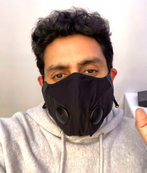 Abhishek Bachchan resumes work on The Big Bull, urges everyone to wear a mask