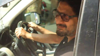 Arshad Warsi spotted at Dharma office in Andheri