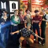 BTS make explosive return to America's Got Talent with 'Dynamite' performance filmed in Everland