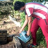 "Babil Khan tends to father Irrfan Khan's grave, says, ""And the plants have grown may be for a purpose look closely"""