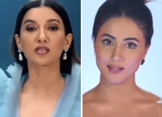 Bigg Boss 14: Gauahar Khan and Hina Khan look glamorous as they join Salman Khan in latest promos