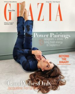 Jacqueline Fernandez On The Cover Of Grazia