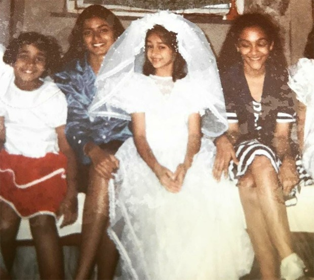 Ileana D'Cruz shares childhood picture from her Holy Communion ceremony