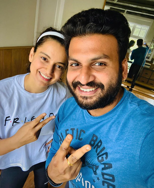 Kangana Ranaut begins dance rehearsals for Thalaivi, choreographer Prashanna Babu shares pictures