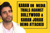 Karan Tacker Outsider or Insider, if you're MEDIOCRE you're... Karan Johar