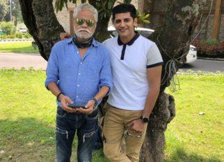 Karanvir Bohra begins shoot for his upcoming film Kutubminar