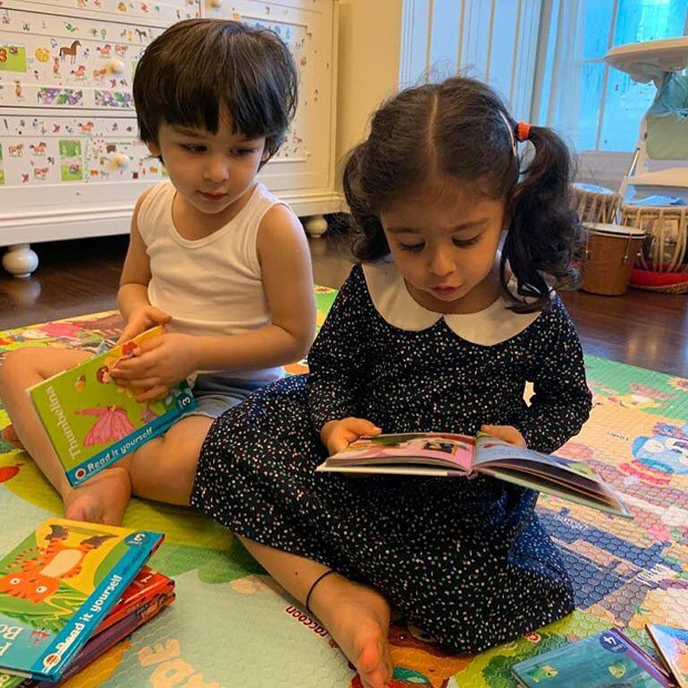 Kareena Kapoor Khan shares a picture of Taimur & Inaaya; Soha Ali Khan posts pictures from her daughter's birthday celebration