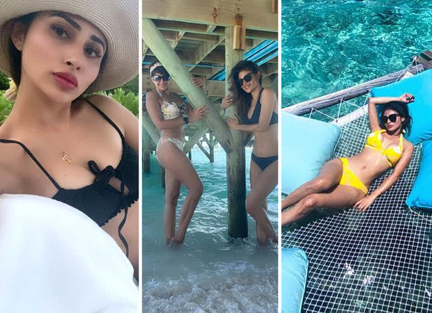 Mouni Roy sizzles in a bikini as she rings in her 35th birthday in Maldives
