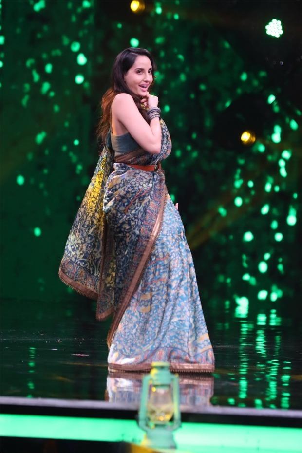 Nora Fatehi, Neha Kakkar and Sunny Kaushal celebrate retro Special on India's Best Dancer