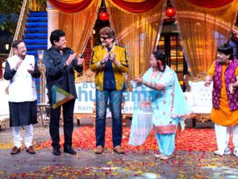Photos: Cast of Mahabharat visit the sets of The Kapil Sharma Show