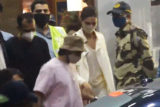 Ranveer Singh and Deepika Padukone spotted at the airport