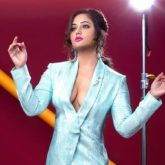 Rashami Desai's risque cleavage show in this metallic pantsuit gives off vintage vibes