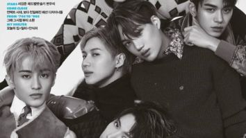 SUPERM members look breathtaking on the October issue of Elle Korea