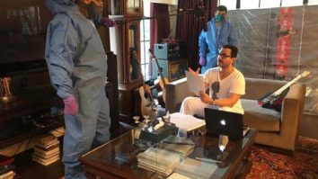 Saif Ali Khan dubs for his next web series which is being helmed by Ali Abbas Zafar